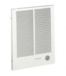 Broan 198 Broan 500W/750W/1000W,  Recessed Electric Wall-Mount Heater,  120/208/240VAC, 1-Phase White Baked Enamel   198