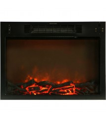 Cambridge 47.2-inchx15.7-inchx32.5-inch Seville Fireplace Mantel with Insert - Cherry