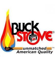 Buck Stove Model 1127 Corner Mantel in White