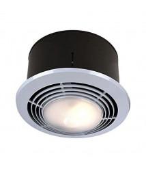 Broan Nutone Broan-NuTone 9093WH Exhaust Fan, Heater, Light Combo, Bathroom Ceiling 70 CFM,