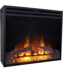 Cambridge 23-In. Freestanding 5116 BTU Electric Fireplace Insert with Remote Control Black