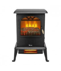 BtrPower Infrared Heater / Electric Fireplace / Electric Fireplace Stove Winter Warmer US