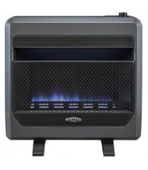 Bluegrass Living 26 In.  30,000 Btu T-Stat Control  Vent Free Propane Gas Blue Flame Gas Space He