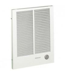 Broan -NuTone 194 High Capacity Wall Heater, White Painted Grille, 3000/1500 Watt 240 VAC,