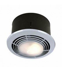 Broan-NuTone 9093WH Exhaust Fan, Heater, and Light Combo, Bathroom Ceiling