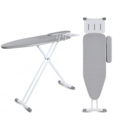 Ironing Boards Large Household Ironing Board, Increase The Panel, T-Shaped Thick Bracket of Ensures Stable Ironing, Foldable Fixed Sleeve Hot, Insulated Anti-Slip Iron Plate, 125x36x90 cm Ironing Prod