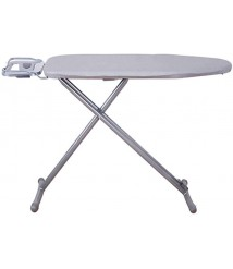 Cajolg Ironing Board Household Folding Hanging High Temperature Resistant Ironing Board Adjustable Height 47.2x12.6x36.2 Inches