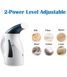 CHENNA Portable Handheld Clothes Steamer, Mini Steamer Fabric Steam Iron, 400ml High Capacity for Home and Travel Use with Fast Heat-up