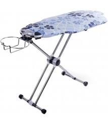 ChenCheng Ironing Board, Home Ironing Board 360° Rotatable Ironing Board Height Adjustable Household Products (Size : L)
