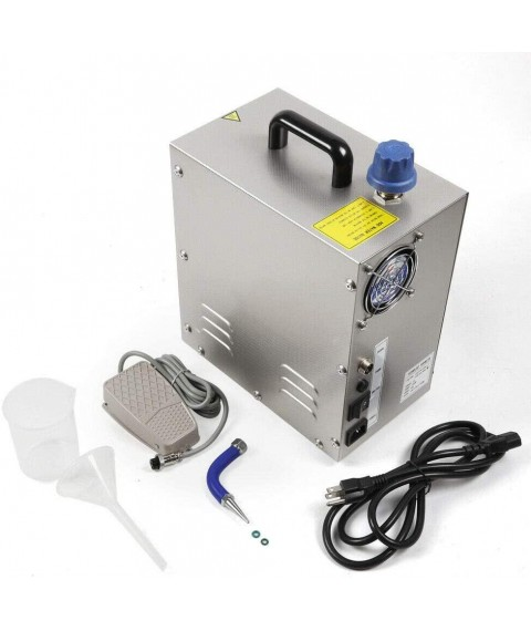 110V 2Liter Professional Steam Cleaner Gold Silver Jewelry Steam Cleaning Machine 1300W Stainless Steel
