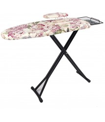 Adjustable Height Ironing Board, Foldable Ironing Table with Heat Resistant Cover for Washing Laundry Home Portable, 2 Styles (Color : A, Size : 130x34x90cm)