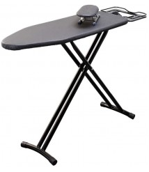 ChenCheng Ironing Board, Home Ironing Board, Stable Steel Mesh Ironing Board, Folding Ironing Board, Height Adjustable Household Products (Size : L)