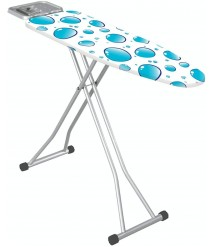 44 Inches Ironing Board with Iron Rest Large,Made in Turkey- Ironing Board Cover-Polder Ultimate Ironing Station-Ironing Holder-Wall Ironing Board Holder-Iron Board Holder- Wall Mount