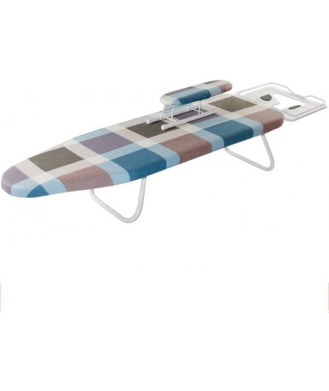 ChenCheng Ironing Board, Household Ironing Board Folding Ironing Board, Small Ironing Board Height is Not Adjustable Household Products (Color : A, Size : 110x30x19cm)