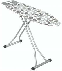 47 Inches Large Ironing Board with Iron Rest Made in Turkey- Ironing Board Cover-Polder Ultimate Ironing Station-Ironing Holder-Wall Ironing Board Holder-Iron Board Holder- Wall Mount