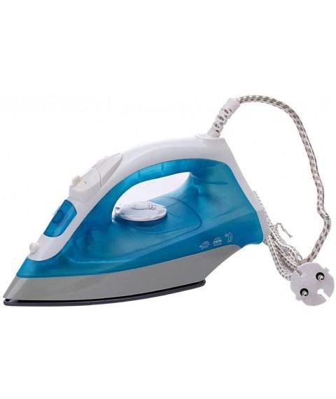 1200w Portable Steam Iron for Clothes, Mini Electric Garment Steamer Steam Iron for Clothing Iron EU Plug Blue