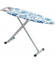 Cajolg Ironing Board Folding Reinforced Large Household Ironing Board Adjustable Height for People of Different Heights47.2x13x33.5 Inches