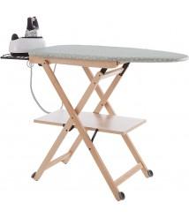 Arredamenti Italia Stirocomodo Adjustable Ironing Board, Natural, One Size, Beige