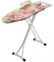 RTSFKFS Ironing Boards Adjustable Height Ironing Board, Anti-Scald Ice Ironing Tool Laundry Bedroom Living Room Ironing Table Ironable Shirt, 110x31x87 cm Ironing Products (Color : D)