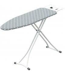 Cajolg Ironing Board Household Adjustable Height Folding Ironing Board High Temperature Resistant 47.2x13.4x33.5 Inches