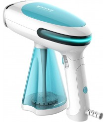 CHENNA Handheld 280ml Steamer for Garment and Fabric - No Water Spitting, Safe and Fast Heat-up for Home and Travel
