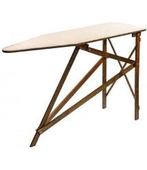 Amish-Made Wooden Ironing Board Dark Finish